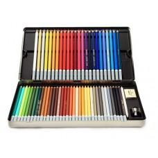 Dye Pencils 60 Pack & Sharpener