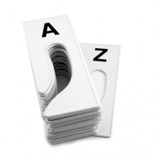 Rack Dividers, Rectangular. A To Z